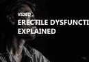 Erectile Dysfunction Explained Video