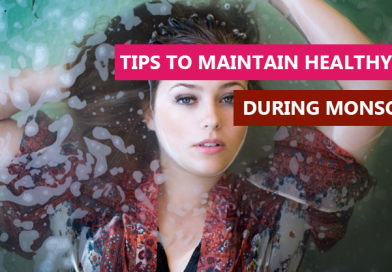 Tips to maintain healthy skin during monsoons