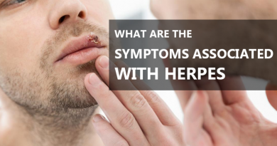 What are symptoms associated with Herpes Treatment ?