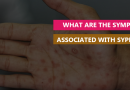 What are the Symptoms associated with Syphilis
