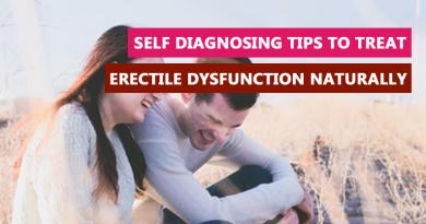 Self diagnosing tips to treat erectile dysfunction naturally