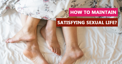 How to maintain satisfying sexual life?