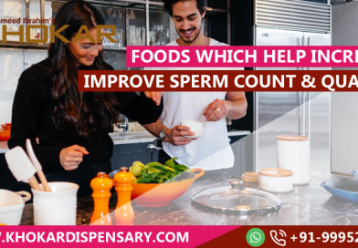 Foods which help increase and improve sperm count and quality
