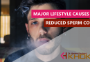Major lifestyle causes for reduced sperm count