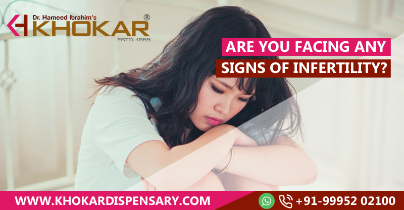 Are you facing any signs of infertility?