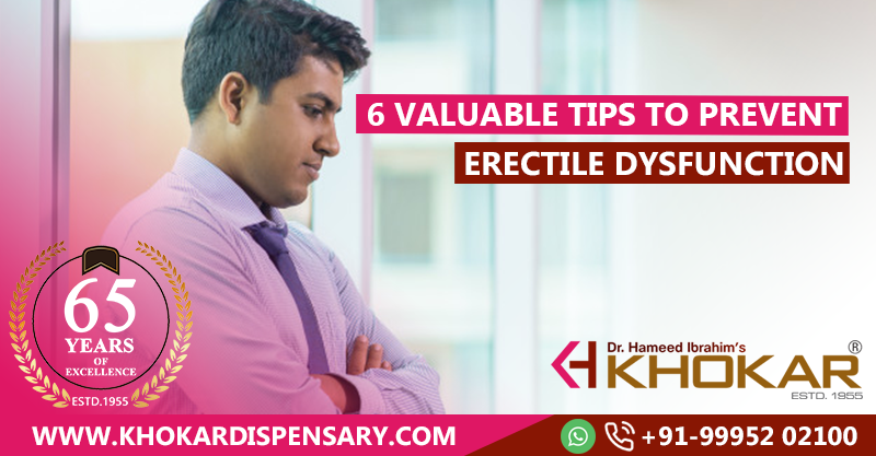 6 Valuable tips to prevent Erectile Dysfunction   Health Tips